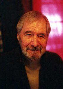 Evan Hunter, author Ed McBain,